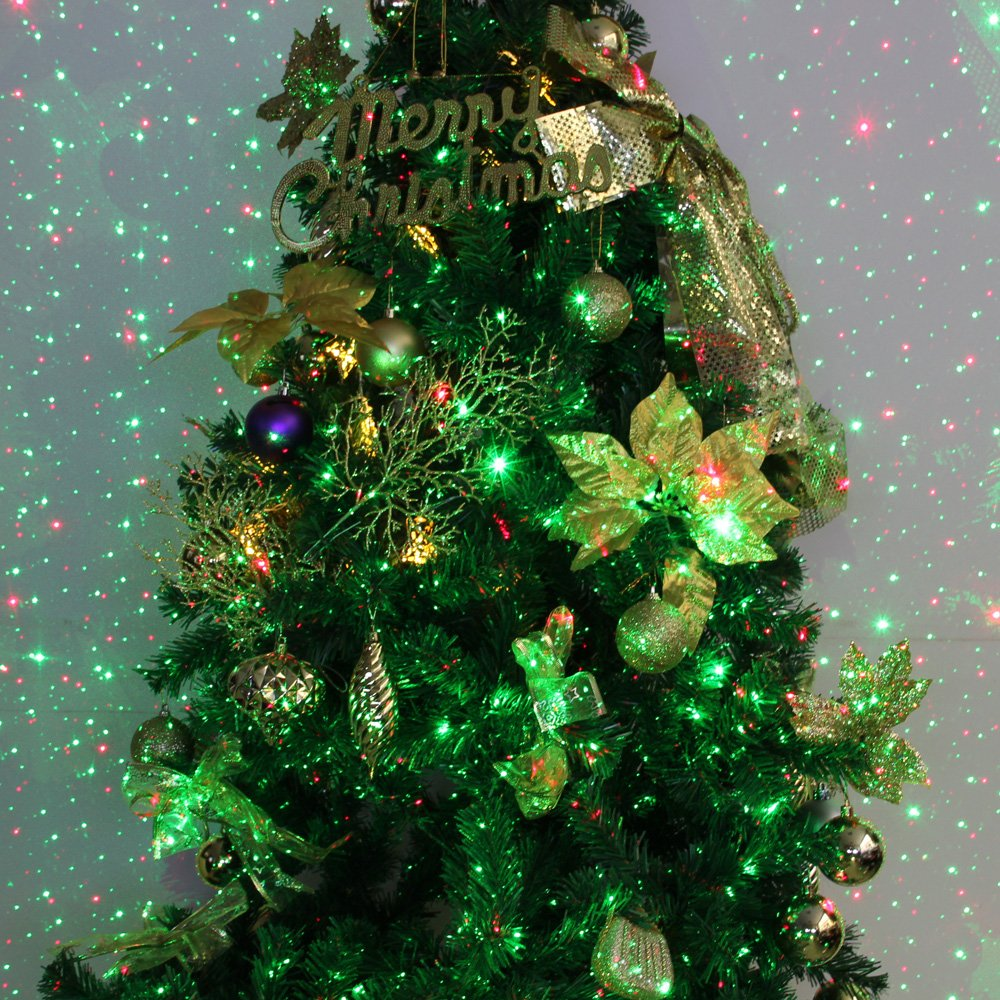Amazon.com : Poeland Christmas Laser Light Moving Firefly Outdoor ...