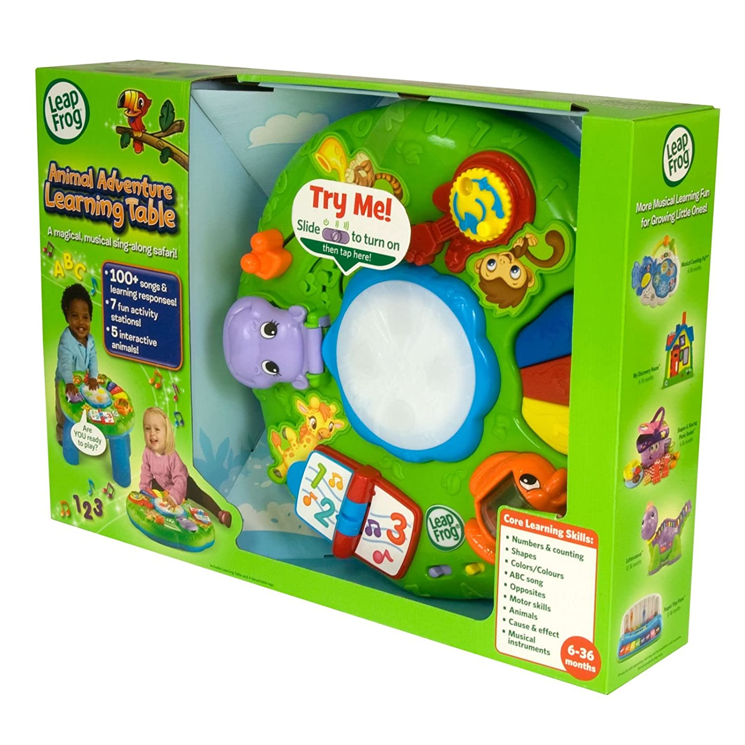 LeapFrog Animal Adventure Learning Table Amazon Toys & Games