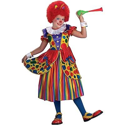 Forum Novelties Little Designer Collection Clown Princess Child Costume, Large: Toys & Games