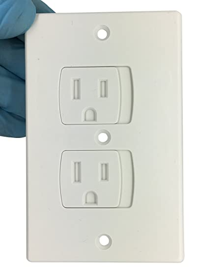 Amazon Com Self Closing Tamper Resistant Electrical Outlet Covers