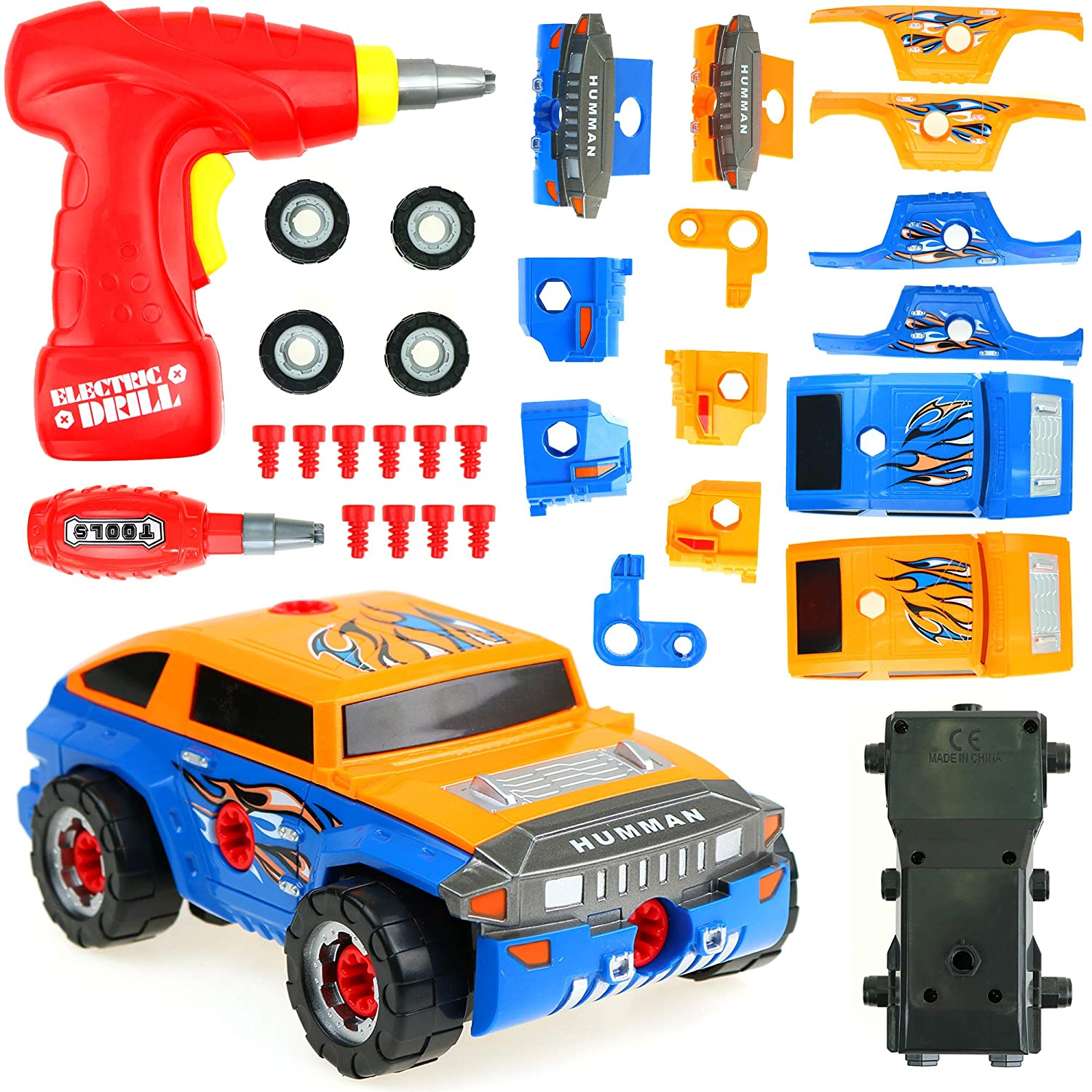 Build Your Car >> Big Mo S Toys Building Car Build Your Vehicle Racing Cars Project Gift Kit Present For Boys And Toddlers