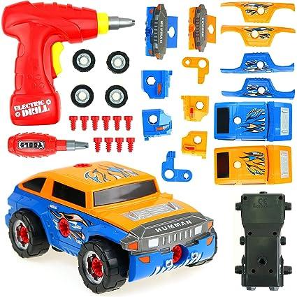 Build Your Car >> Amazon Com Big Mo S Toys Building Car Build Your Vehicle Racing