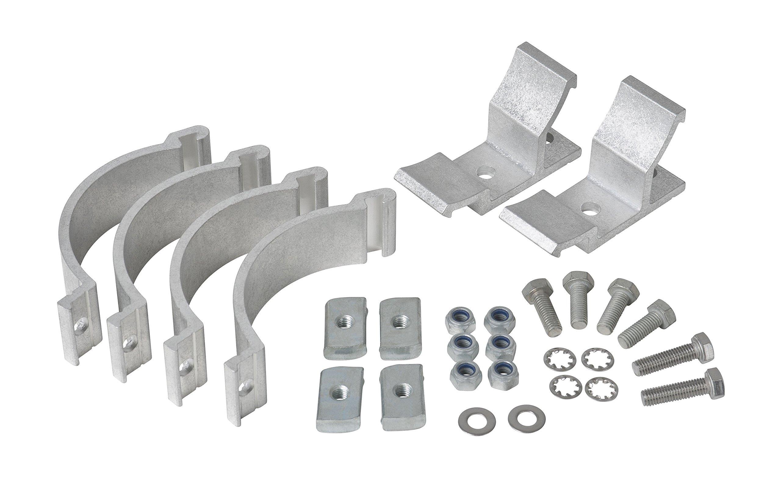 Rhino Rack BC2 Conduit Clamp Set (2 Piece)