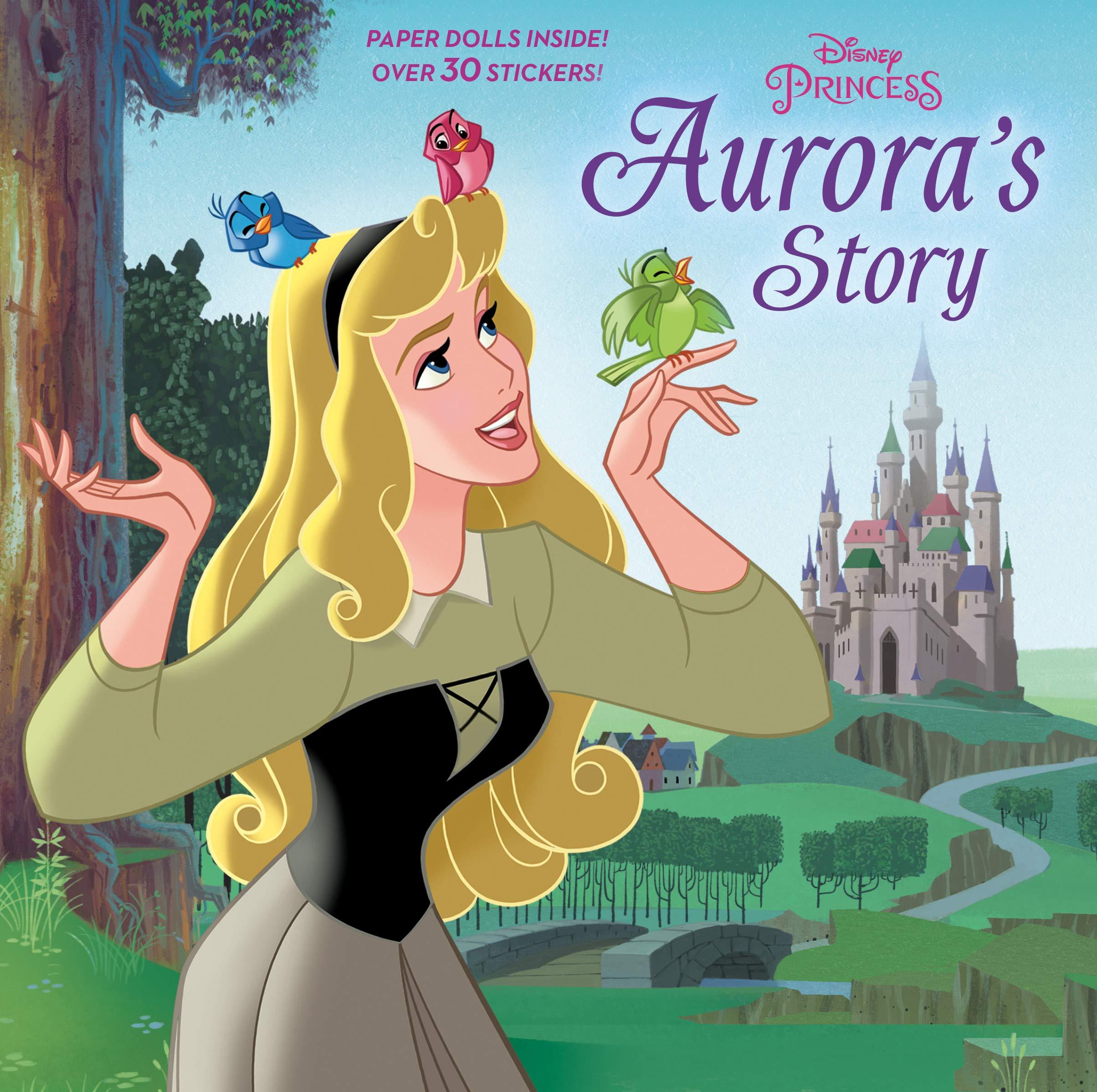 Aurora S Story Disney Princess Pictureback R Courtney