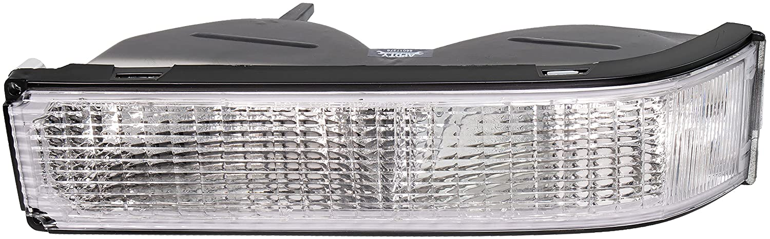 See Description For Full Fitment Details; Replaces 5974337 GMC Cadillac Models APDTY 2741119 Park//Turn Signal Lamp Assembly Fits Front Left Below the Headlights On Select 1988-2002 Chevy