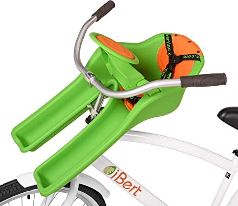 iBert Ibertgreen Sillita Portabebé Bicicleta, Unisex bebé, Verde ...