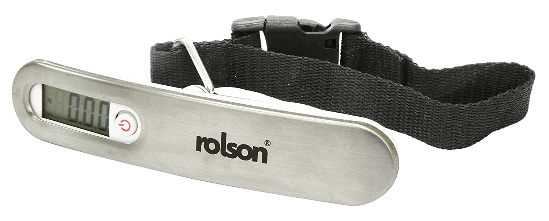 /Silber Rolson 60675/Digitale Gep/äckwaage/