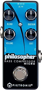 Pigtronix Philosopher Micro Bass Compressor Sustain Pedal