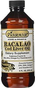Aceite De Higado De Bacalao 8 Oz. Cod Liver Oil