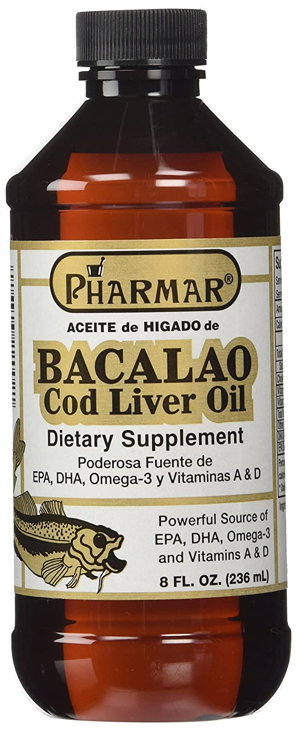 Amazon.com: Aceite De Higado De Bacalao 8 Oz. Cod Liver Oil: Health & Personal Care