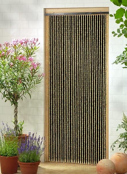 Rideau Decoratif Rideau De Perles Rideau De Porte Sumatra Env 90x200 Cm Lxh Amazon Fr Cuisine Maison