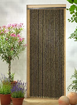 Rideau décoratif Rideau de perles Rideau de porte « Sumatra» env ...