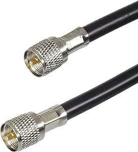 BJC RG-8 tipo antena feedline – -Belden 7810 un con ...