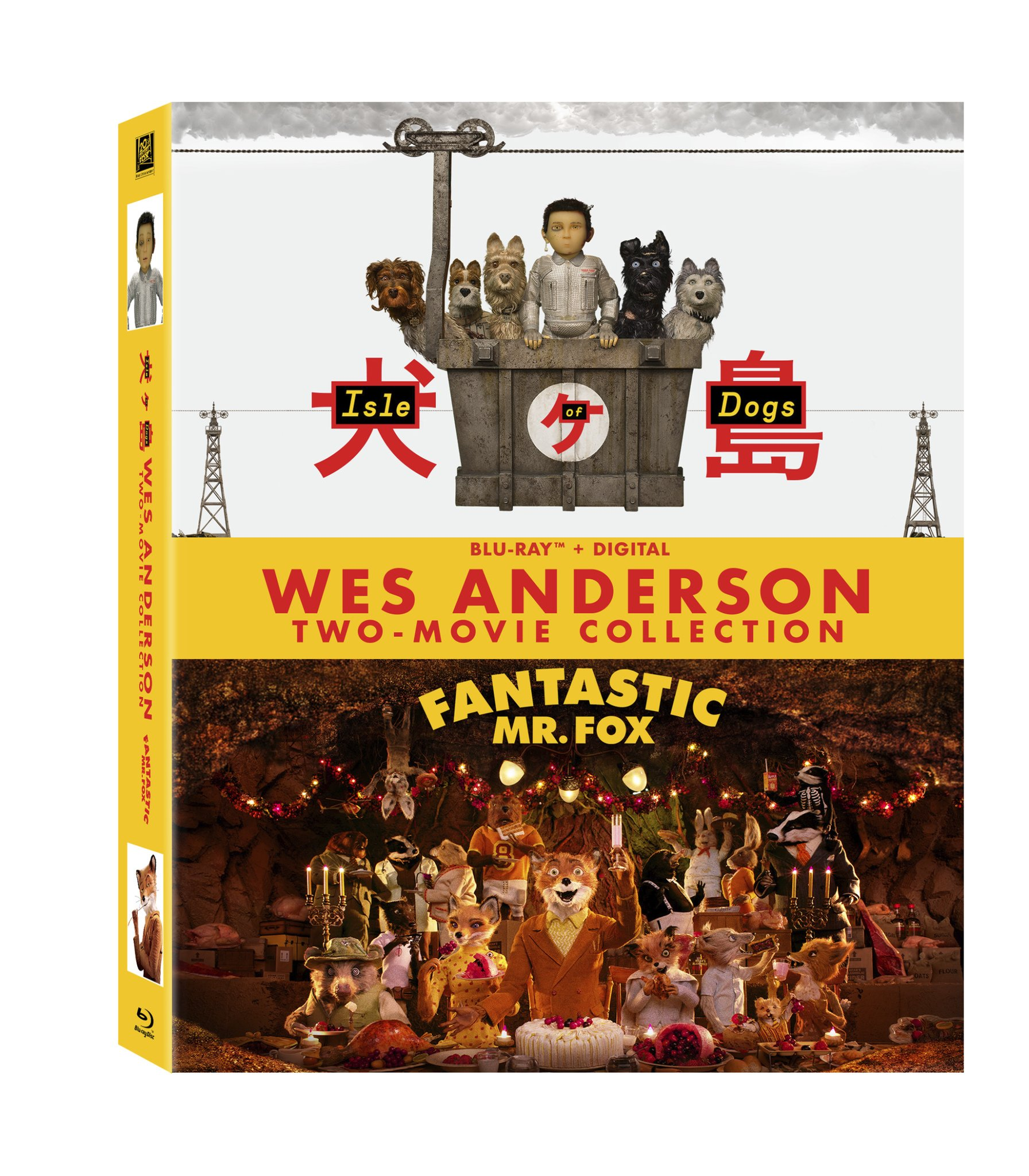 Blu-ray : Wes Anderson Two-movie Collection (With Blu-Ray, Digitally Mastered in HD, 2 Pack, Widescreen, Subtitled)