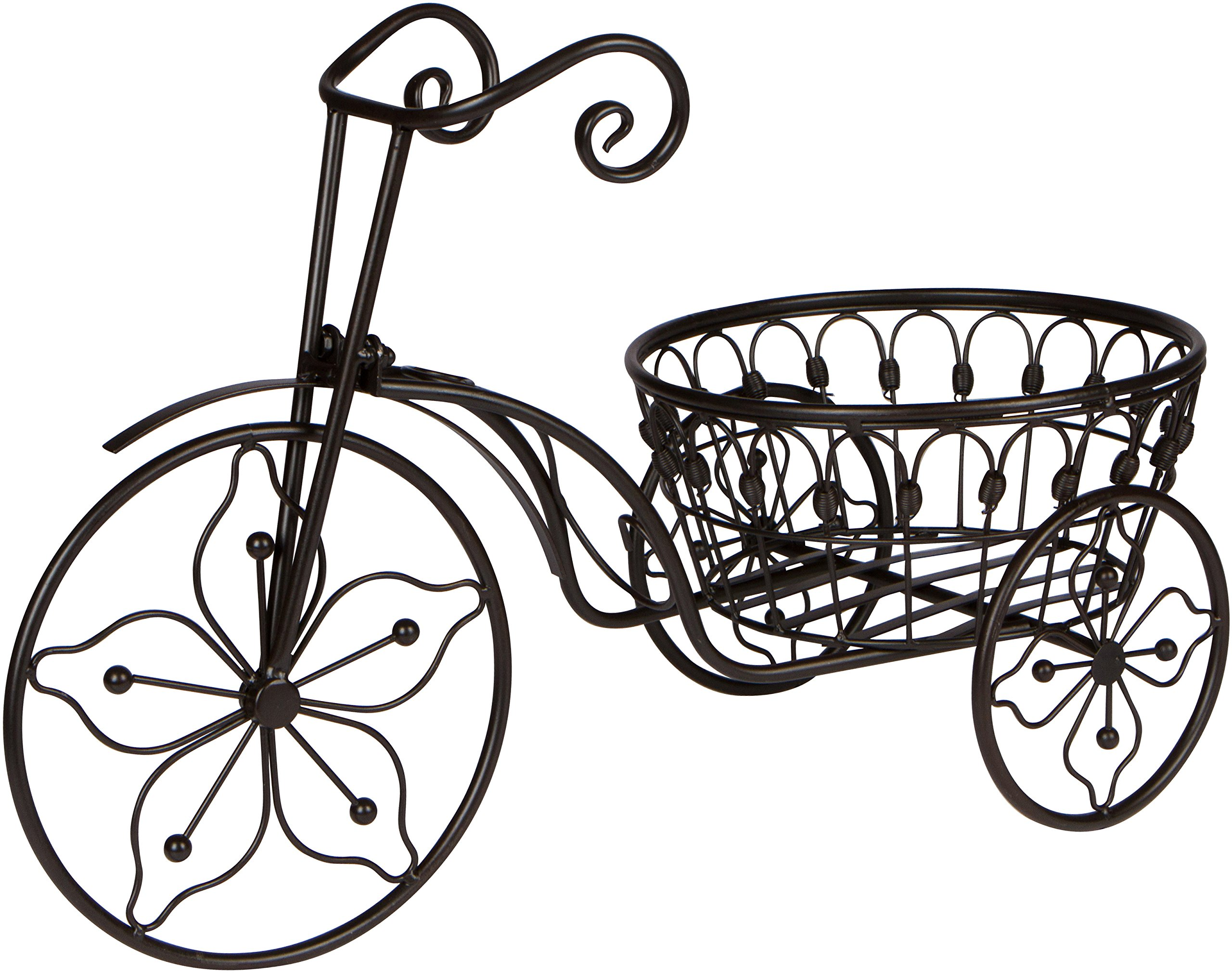 Iron Bicycle Plant Stand
