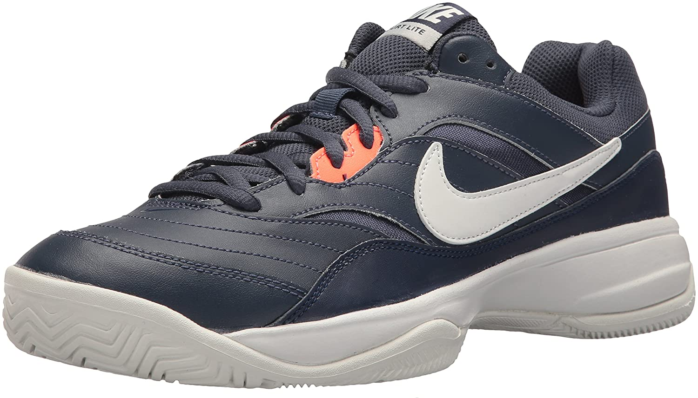 nike uomini corte lite scarpe da tennis b072ltxj45 8 d (m) usthunder blu