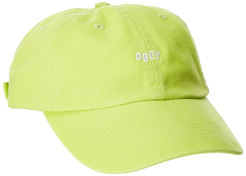 Obey Hombres 100580037 Gorra de béisbol - Verde - Talla única ...