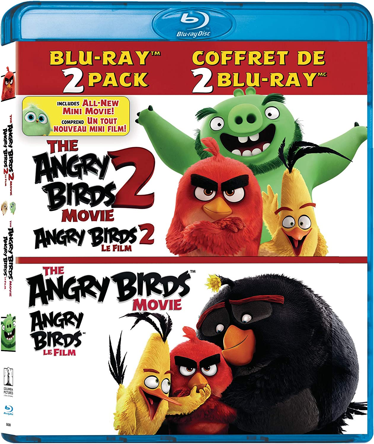 The Angry Birds Movie 2 / Angry Birds Movie - Set Blu-ray Bilingual:  Amazon.ca: DVD