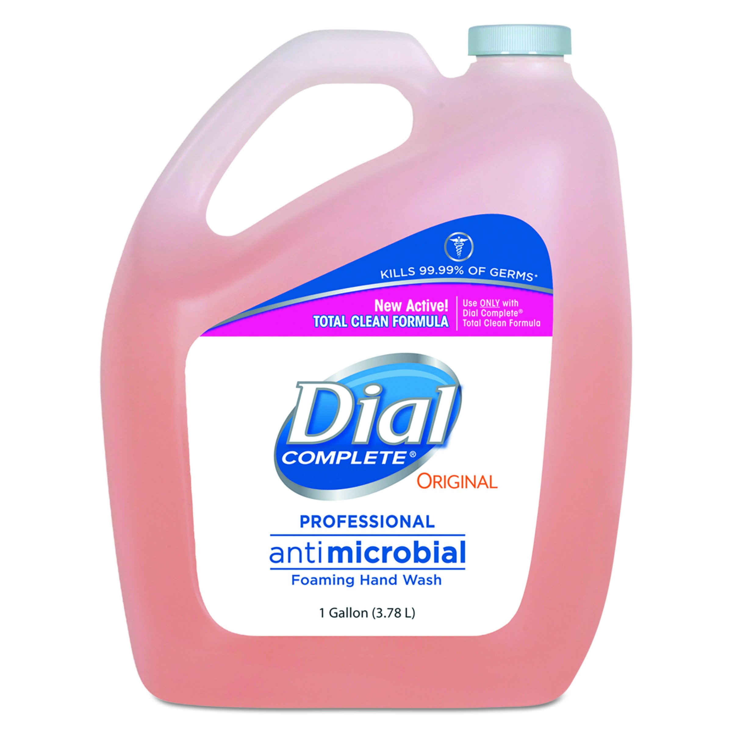 Dial Professional 99795CT Antimicrobial Foaming Hand Wash, Original Scent, 1gal. (Case of 4)