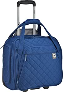 DELSEY Paris Rolling Under Seat Tote Bag, Blue, One Size