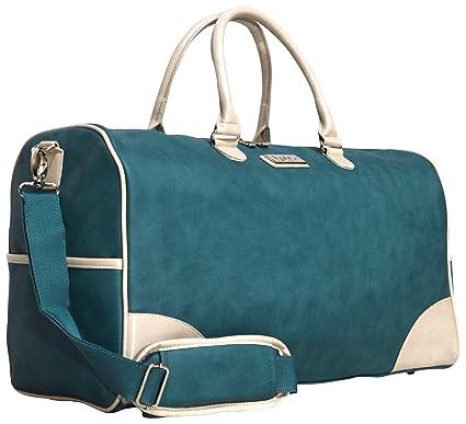 d1ba9bcdc334 Nicole Miller Sharon City Duffel Bags (Teal)