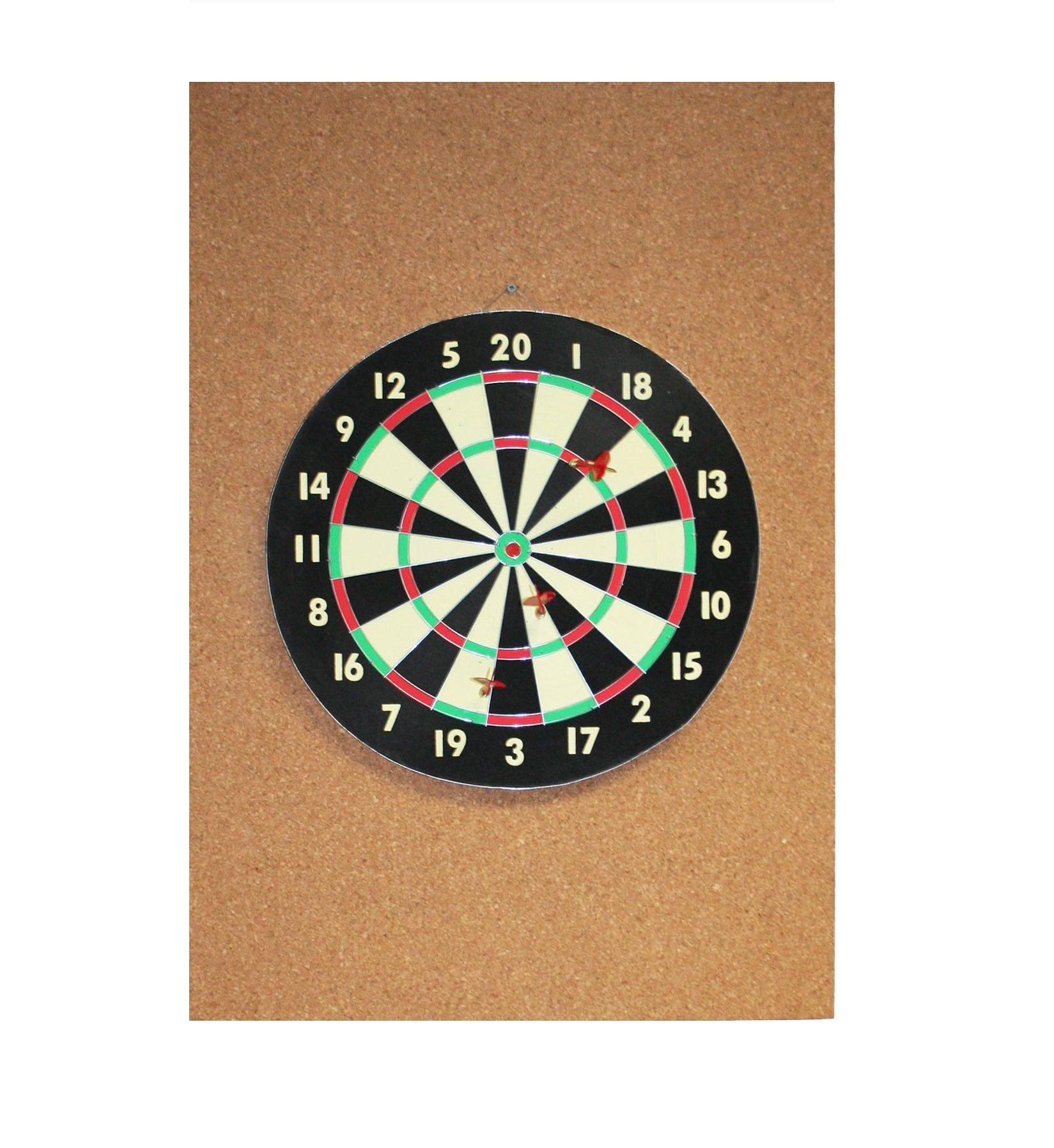 Cork Dart Board Backer 36'' x 24'' x 1/2''