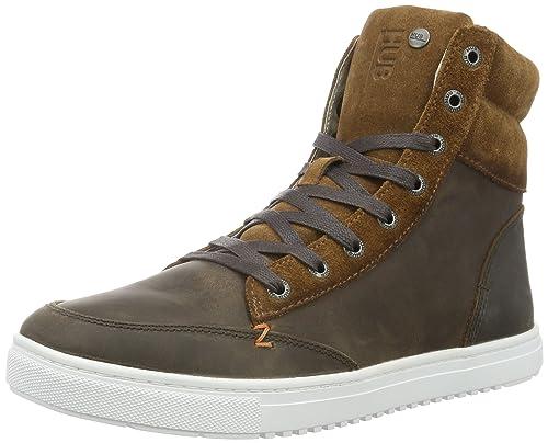 Zapatos marrones Hub para hombre  37 EU Pelx8rj
