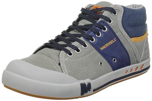 b96ba78fb75a5 Merrell RANT MID J39287, Sneaker uomo, Mehrfarbig (ALUMINUM/NAVY J39287),  44.5: Amazon.it: Scarpe e borse