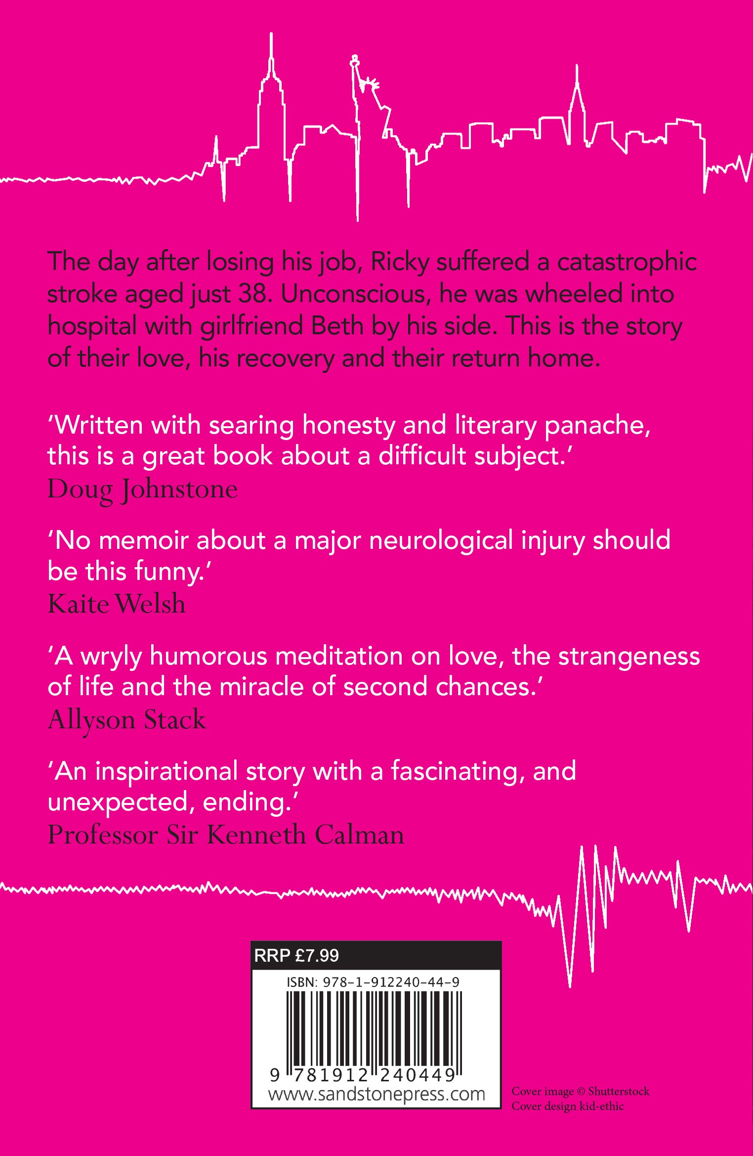 Stroke: A 5% chance of survival: Amazon co uk: Ricky Monahan