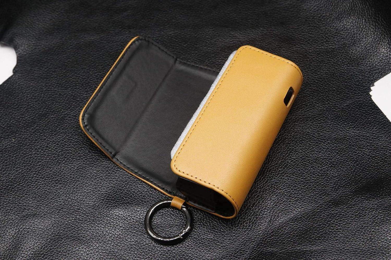 Case Kunstleder Schutzh/ülle Wasser- und Sto/ßfest schwarz PULeder Tasche Schutzh/ülle f/ürIQOS 3 3.0 DOU 2in1 H/ülle f/ürIQOS 3//3 DOU /& Zigarette Pocket Charger