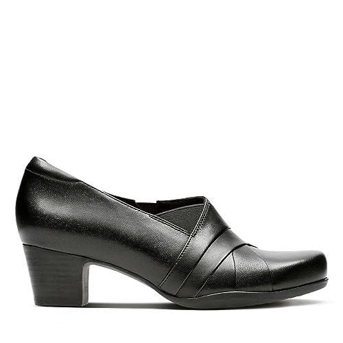 Rosalyn Adele Black Leather, Black, 3 UK