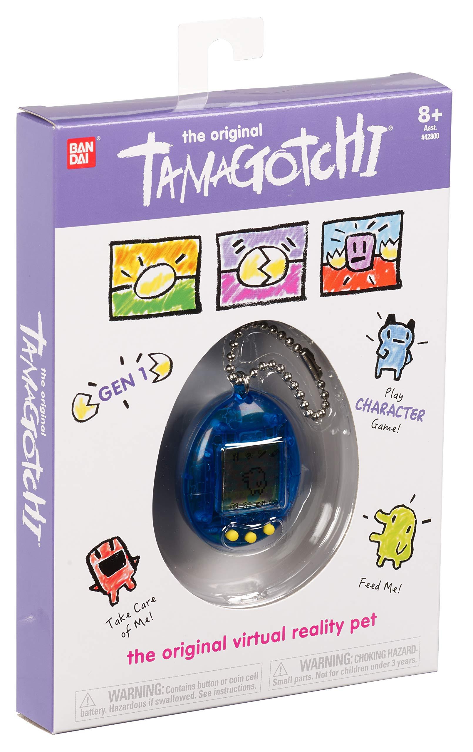 Tamagotchi Electronic Game, Translucent Blue by Tamagotchi (Image #3)