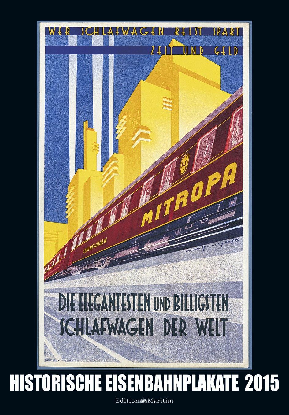 Historische Eisenbahnplakate 2015