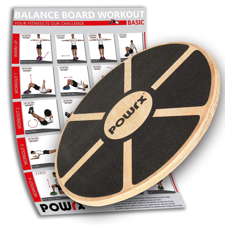 POWRX Balance Board in Legno