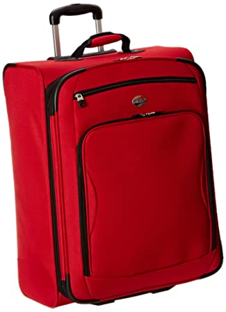 cc00dc75b6 Amazon.com | American Tourister Splash 2 Upright 25, Tango Red, One Size |  Suitcases