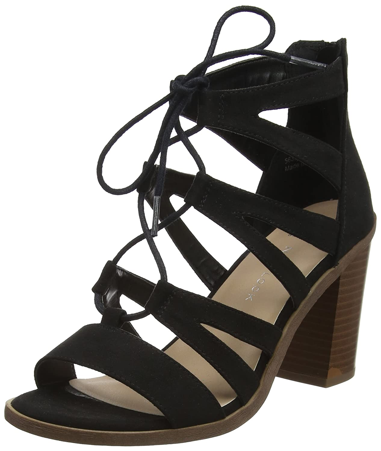 New Look Wide Foot Oliana, Sandales Bout Ouvert Femme 5635492