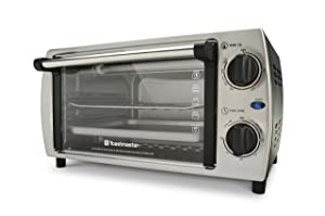 Toastmaster TM-103TR Toaster Oven, 10 L, Silver