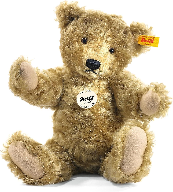 """B00009530F Steiff Classic 1920 Teddy Bear Light Brown 14"""" 81fOc0Q6L9L.SL1500_"""