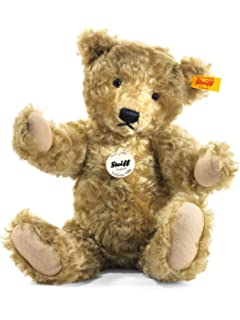 Steiff 000331 Classic Teddy Bear Linda with FREE gift box