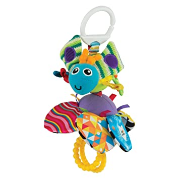 Amazon.com : Lamaze Flutterbug : Car Seat Toys : Baby