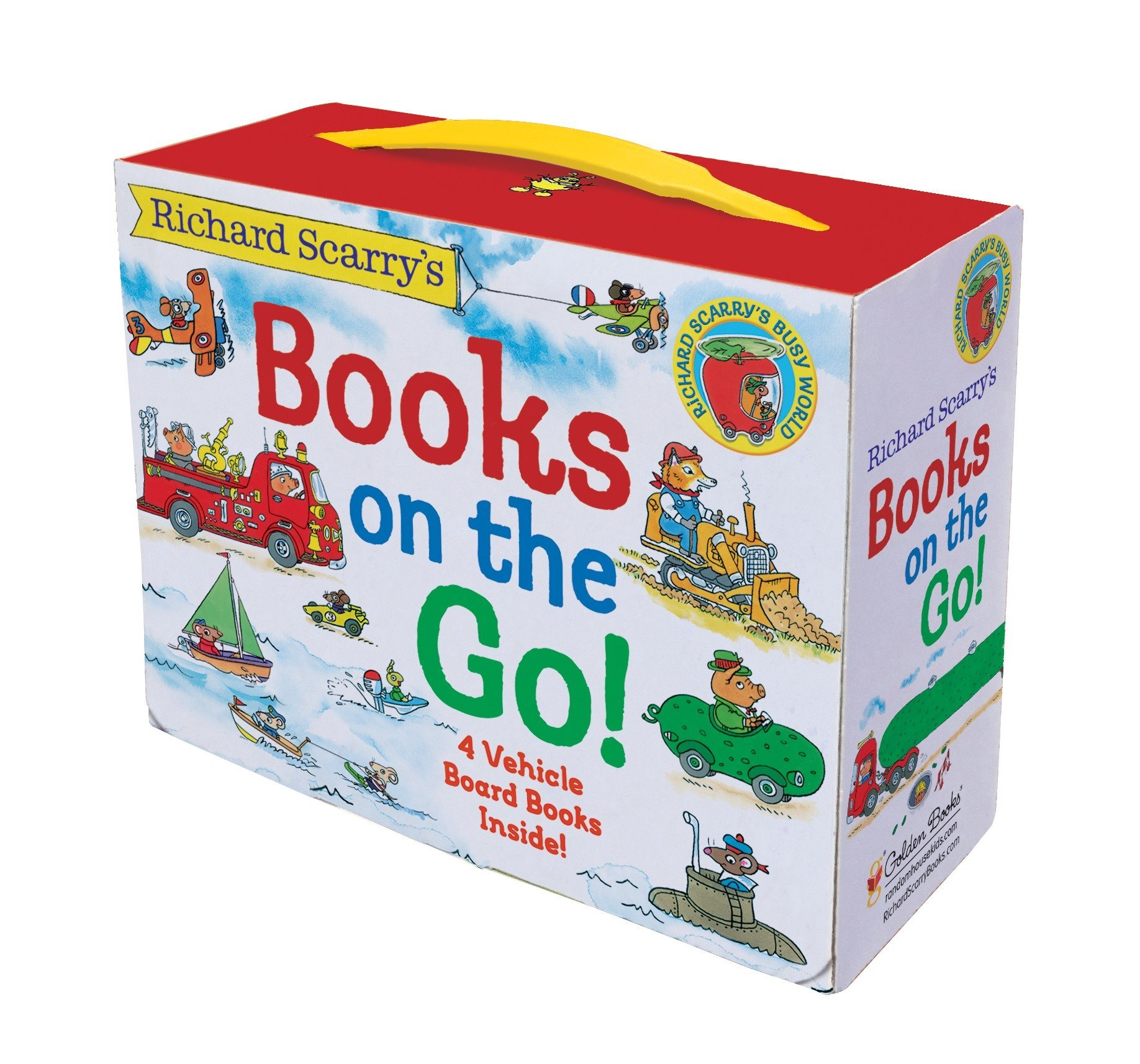 Richard Scarry's Books on the Go by Golden Books (Image #3)