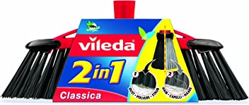 Vileda 141460 Classica 2-in-1 Indoor Broom