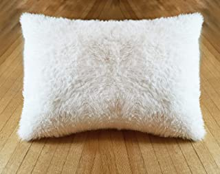 product image for Sherpa Sheets - Ultra Soft Faux Fur Pillowcases - Ivory (Llama - 30mm)