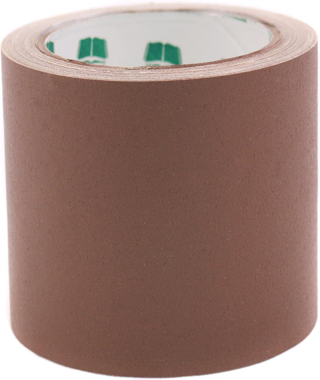"""4"""" Brown Colored Premium-Cloth Book Binding Repair Tape"""