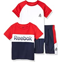 Reebok Conjunto de Pantalones Cortos Set de Pantalones Cortos para Niños