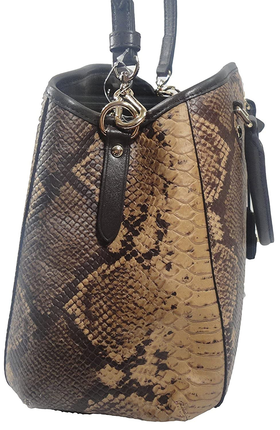 Amazon.com: Coach Python Small Margot Carry All – Multi ...