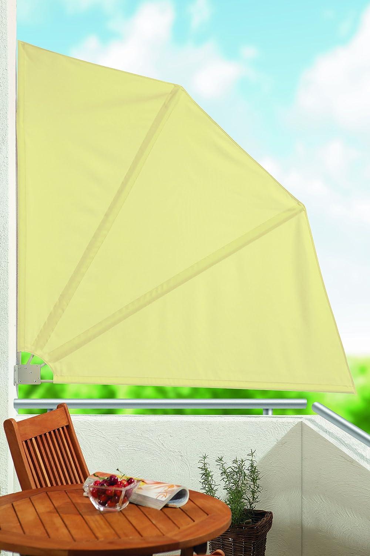 Amazon Balkonfächer Balkonsichtschutz Sichtschutz in beige