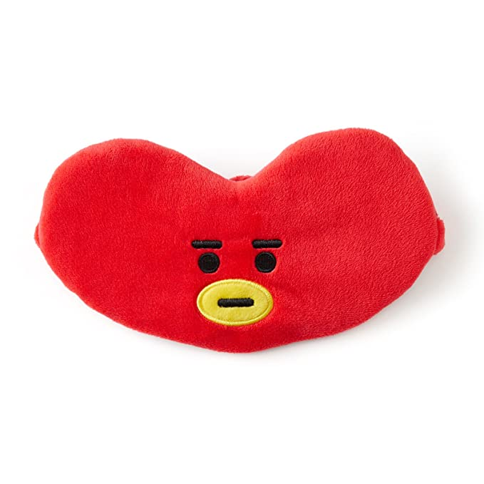 BT21 Tata Sleeping Mask One Size Red