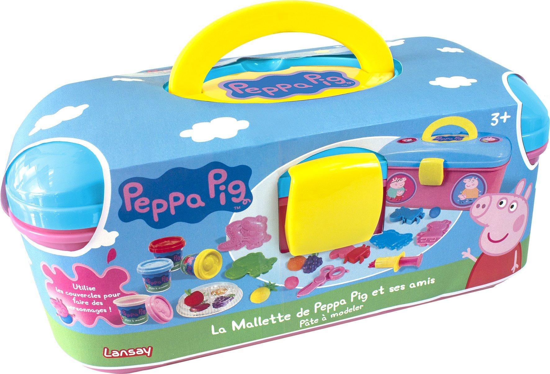 Lansay - 20005 - Pate A Modeler La Mallette De Peppa Et Ses Amis product image