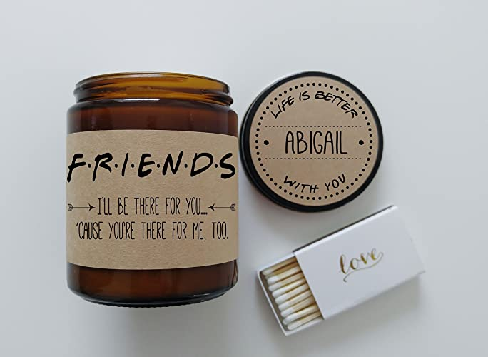 Amazon.com: Best Friend Gift Friends TV Show Soy Candle Gift for ...